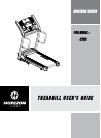 Horizon Fitness HORIZON CT83 Treadmill Manual (36 pages)