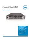 Dell POWEREDGE R710 Desktop Manual (63 pages)