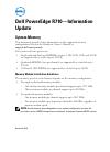 Dell POWEREDGE R710 Desktop Manual (14 pages)