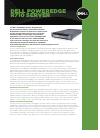 Dell POWEREDGE R710 Desktop Manual (2 pages)