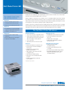 Dell 540 - USB Photo Printer 540 Desktop Manual (2 pages)