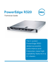 Dell PowerEdge R320 Desktop Manual (51 pages)