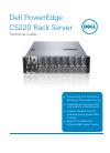 Dell PowerEdge C5220 Desktop Manual (32 pages)