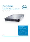 Dell PowerEdge C6220 Desktop Manual (35 pages)