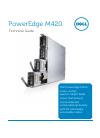 Dell PowerEdge M420 Desktop Manual (48 pages)