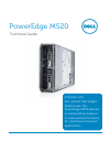 Dell PowerEdge M520 Desktop Manual (46 pages)