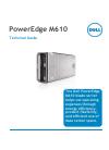 Dell PowerEdge M610 Desktop Manual (51 pages)