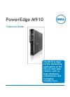Dell PowerEdge M910 Desktop Manual (46 pages)
