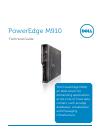 Dell PowerEdge M910 Desktop Manual (45 pages)