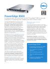 Dell PowerEdge R320 Desktop Manual (2 pages)