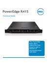 Dell PowerEdge R415 Desktop Manual (63 pages)
