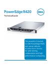 Dell PowerEdge R420 Desktop Manual (49 pages)