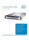 Dell PowerEdge R520 Desktop Manual (51 pages)