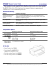 Epson 1520 - Stylus Color Inkjet Printer Printer Manual (1 pages)