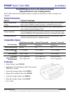 Epson Stylus Color 3000 Printer Manual (1 pages)