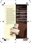 Epson Stylus Color 640 Printer Manual (2 pages)