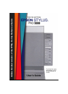 Epson Stylus Pro 9000 Printer Manual (176 pages)