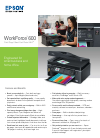 Epson WorkForce 600 Series Software Manual (2 pages)