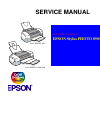 Epson 1280 - Stylus Photo Color Inkjet Printer Printer Manual (205 pages)