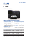Epson 500DN - B Color Inkjet Printer Printer Manual (2 pages)