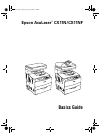 Epson AcuLaser CX11N Printer Manual (144 pages)