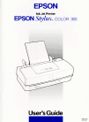 Epson Stylus COLOR 300 Printer Manual (111 pages)