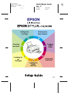 Epson Stylus Color 670 Printer Manual (16 pages)