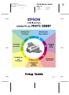Epson 2000P - Stylus Photo Color Inkjet Printer Printer Manual (16 pages)