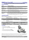 Epson 2000P - Stylus Photo Color Inkjet Printer Printer Manual (1 pages)
