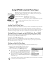 Epson 785EPX - Stylus Photo Color Inkjet Printer Printer Manual (2 pages)