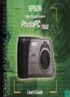 Epson PhotoPC 750Z Software Manual (121 pages)