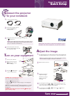 Epson 6100i - PowerLite XGA LCD Projector Home Theater Screen Manual (2 pages)