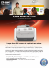 Epson PowerLite 450W Software Manual (4 pages)