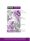 Epson Stylus Pro 10600 - UltraChrome Ink - Stylus Pro 10600 Print Engine Software Manual (8 pages)