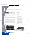 Epson FX-2190 Software Manual (2 pages)