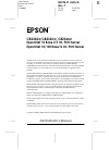 Epson C823622A - Interface Type B Print Server Server Manual (279 pages)