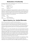 Epson PowerLite 4100 Software Manual (4 pages)