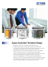 Epson SC-T3000 Software Manual (2 pages)