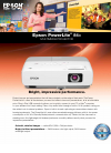 Epson PowerLite 84+ Software Manual (4 pages)