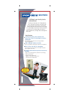 Epson Perfection 1670 Software Manual (2 pages)