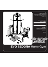 Evo EVO SEDONA 50551 Home Gym Manual (32 pages)