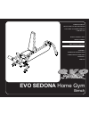 Evo SEDONA 50553 Home Gym Manual (20 pages)