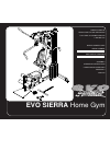 Evo SIERRA 53553 Home Gym Manual (28 pages)