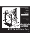 Evo TAHOE 51551 Home Gym Manual (28 pages)
