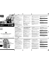Philips AE1000 Radio Manual (2 pages)