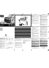 Philips AE2110/04 Radio Manual (2 pages)