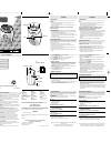 Philips AE2170 Radio Manual (2 pages)
