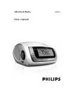 Philips AJ3915 Radio Manual (14 pages)