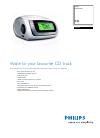Philips AJ3915 Radio Manual (2 pages)