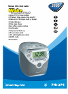 Philips AJ3950 Radio Manual (2 pages)